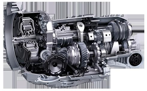 Bild eines modernen DSG Automatikgetriebes